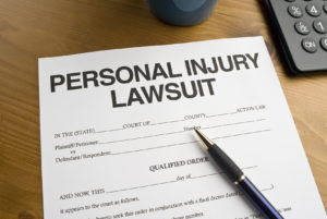 Personal Injury Lawsuit Court Document
